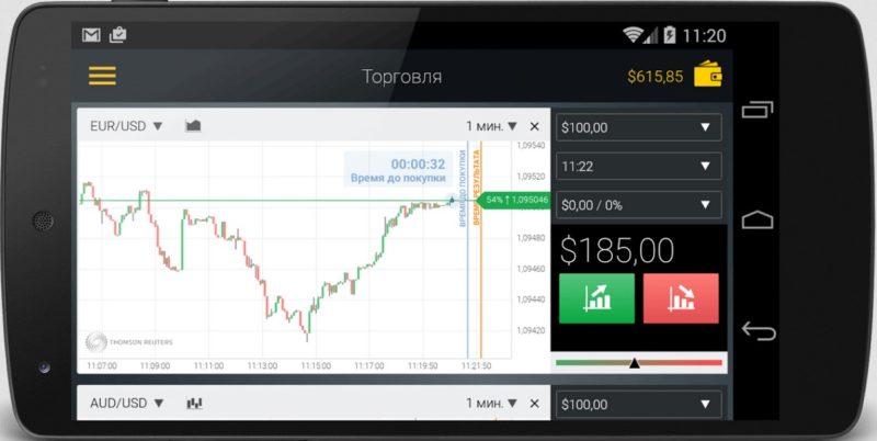 Aplikasi Binomo untuk IOS dan Android